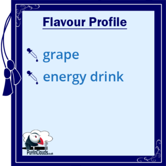Fight Club Insomniac Grape Shake n Vape E-Liquid (50ml 0mg) | Puffin Clouds UK
