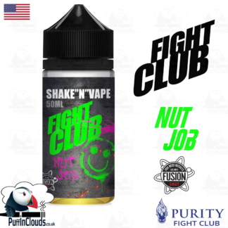 Fight Club Nut Job Shake n Vape E-Liquid (50ml 0mg) | Puffin Clouds UK