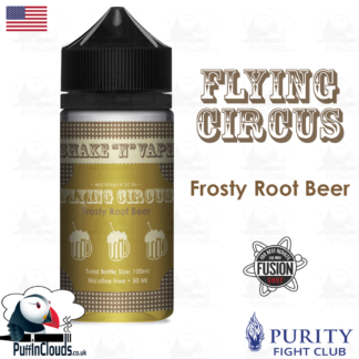 Flying Circus Frosty Root Beer Shake n Vape E-Liquid (50ml 0mg) | Puffin Clouds UK