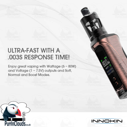 Innokin Kroma R Zlide 80W Vaping Kit | Puffin Clouds UK