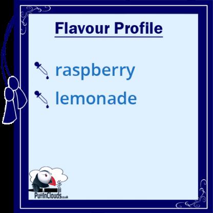 Mike's Wicked Raspberry Lemonade Shake n Vape E-Liquid | Puffin Clouds UK