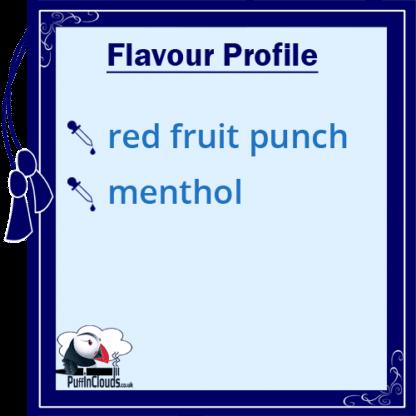 Paradise-Icle Frozen Fruit Punch Shake n Vape E-Liquid (50ml 0mg) | Puffin Clouds UK