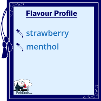 Paradise-Icle Strawberry Slushy Shake n Vape E-Liquid (50ml 0mg) | Puffin Clouds UK