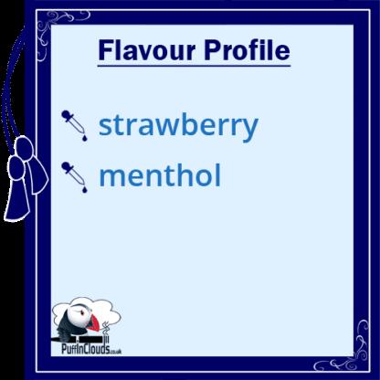 Paradise-Icle Strawberry Slushy Shake n Vape E-Liquid (50ml 0mg) | Puffin Clouds UK