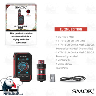 Smok G-Priv 3 Kit | Puffin Clouds UK