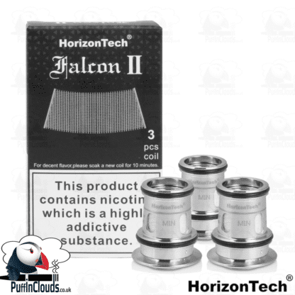 HorizonTech Falcon 2 Sector Mesh Coil | Puffin Clouds UK
