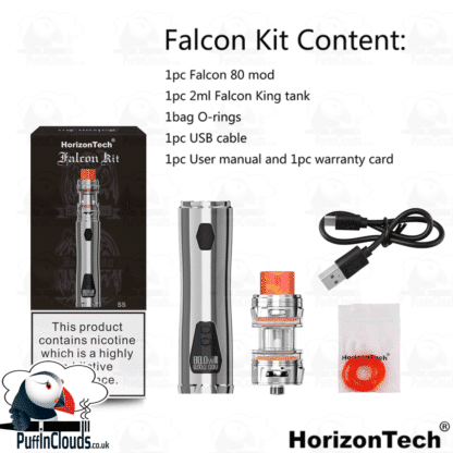 HorizonTech Falcon Kit (80 Watts)   Puffin Clouds UK