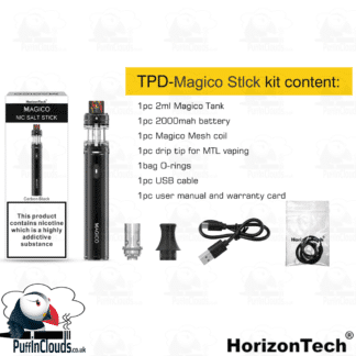 HorizonTech Magico Nic Salt Stick Kit | Puffin Clouds UK