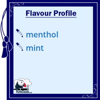 Ohm Brew Ice Menthol Nic Salt E-Liquid 50/50 | Puffin Clouds UK