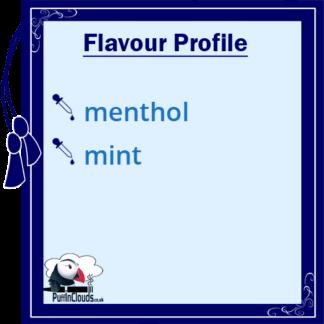 Ohm Brew Ice Menthol Nic Salt E-Liquid 50/50 | Puffin Clouds UK