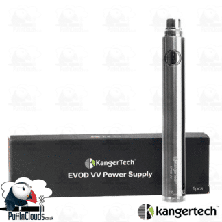 KangerTech EVOD VV 1300mAh Twist Battery | Puffin Clouds UK