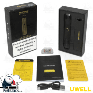 Uwell Caliburn G Pod Kit - Puffin Clouds UK