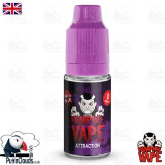 Attraction E-Liquid by Vampire Vape (10ml) | Puffin Clouds UK