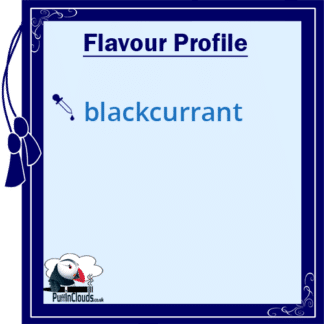 Blackcurrant E-Liquid by Vampire Vape (10ml) Flavour Profile | Puffin Clouds UK
