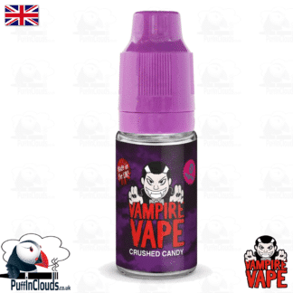 Crushed Candy E-Liquid by Vampire Vape (10ml) | Puffin Clouds UK