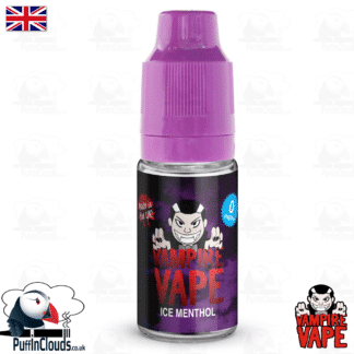 Ice Menthol E-Liquid by Vampire Vape (10ml) | Puffin Clouds UK