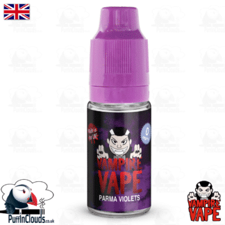 Parma Violets E-Liquid by Vampire Vape (10ml) | Puffin Clouds UK