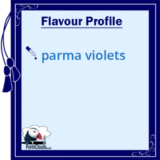 Parma Violets E-Liquid by Vampire Vape (10ml) Flavour Profile | Puffin Clouds UK