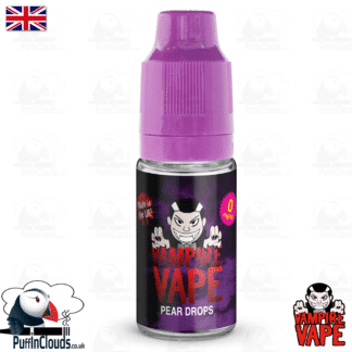 Pear Drops E-Liquid by Vampire Vape (10ml) | Puffin Clouds UK