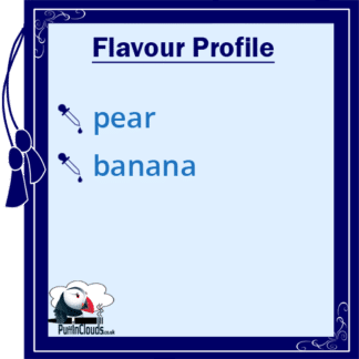 Pear Drops E-Liquid by Vampire Vape (10ml) Flavour Profile | Puffin Clouds UK