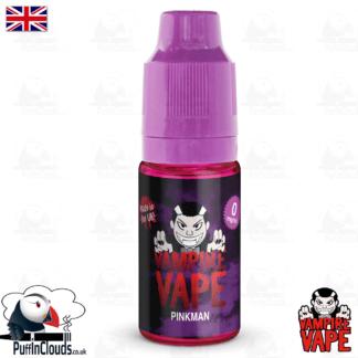 Pinkman E-Liquid by Vampire Vape (10ml) | Puffin Clouds UK
