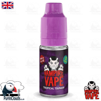 Tropical Tsunami E-Liquid by Vampire Vape (10ml) | Puffin Clouds UK