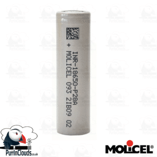 Molicel P28A Vaping Battery | Puffin Clouds UK