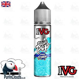 IVG Blue Lollipop Short Fill E-Liquid 50ml   Puffin Clouds UK