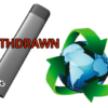 Puffin Clouds - withdrawal from sale of disposable vape devices